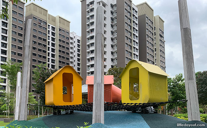 Village Playground for Younger Kids
