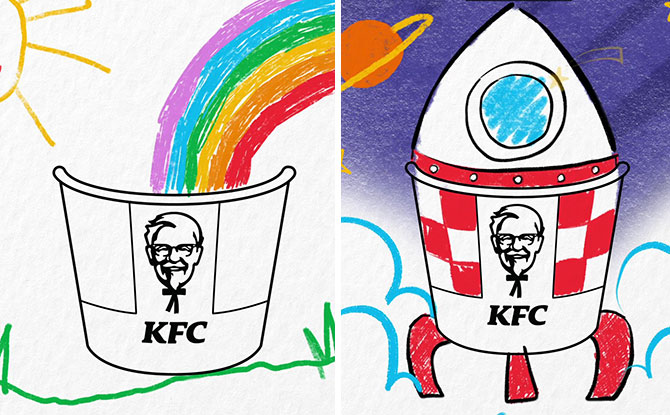 Draw A Bucket Of Happiness And Stand To Win KFC Vouchers