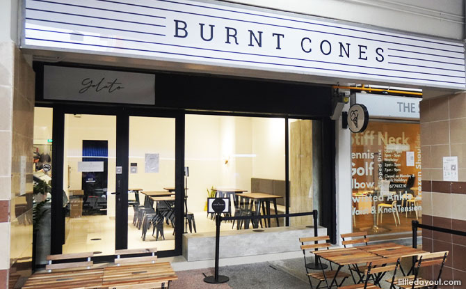 Burnt Cones Storefront