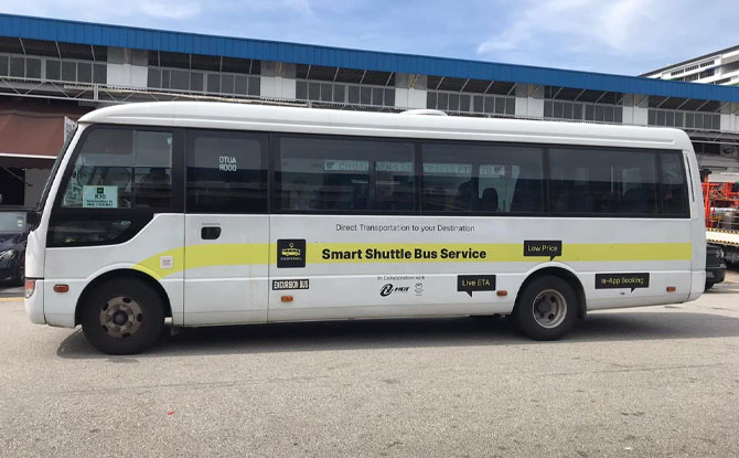 RushOwl: New Shuttle That'll Whisk You From Bedok To East Coast Park