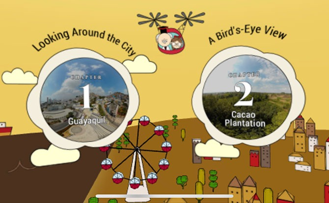 Discover The Story Of Chocolate With Glico's Cacao Story 360 VR