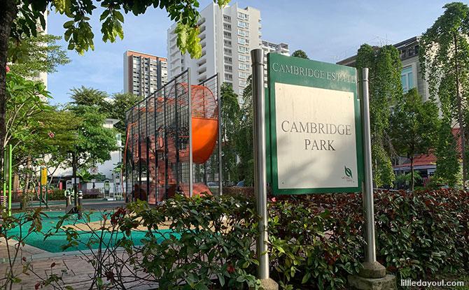 Cambridge Park: Wallhola Vertical Playground & Green Space