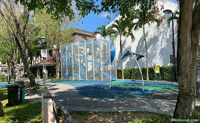 Carpmael Park: Wallhola Vertical Playground & Green Neighbourhood Space
