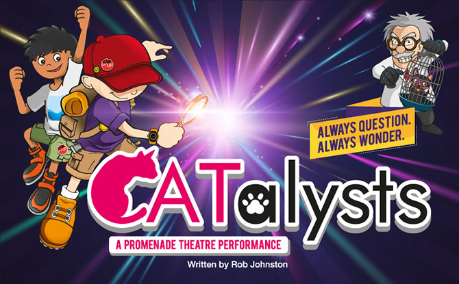 KidsSTOP's CATalysts: Solve The Mystery Of The Missing Cat At A Walkabout Performance