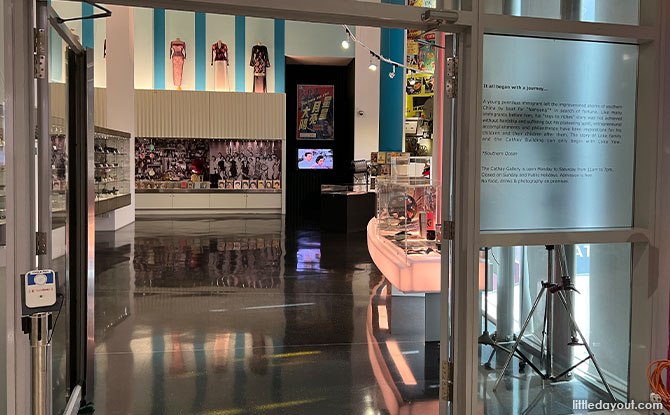 The Cathay Gallery: Vintage And Nostalgic Displays For Movie Buffs