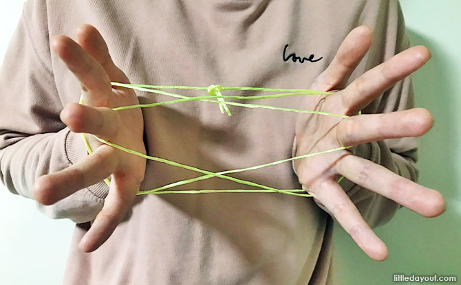 How to play Cat's Cradle: Visual And Video Tutorials