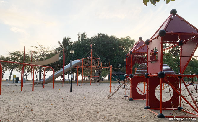 Changi Beach Park Playground: Seaside Play & Cargo Nets