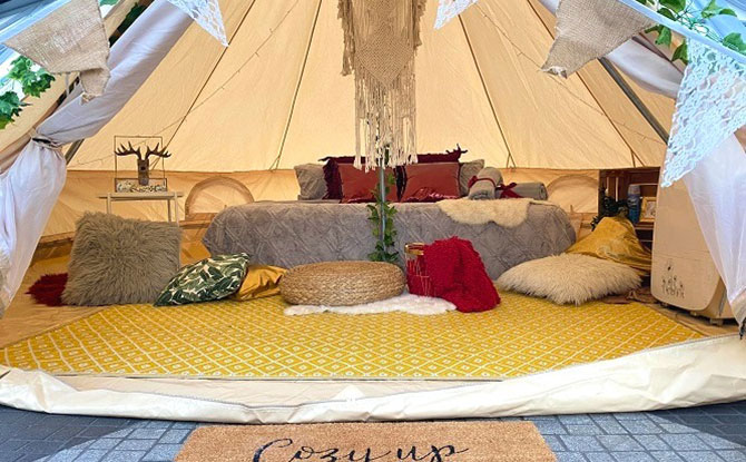 Glamping in the Clouds and at Shiseido Forest Valley