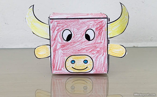 Chinese New Year Craft: Make An Ox Decoration