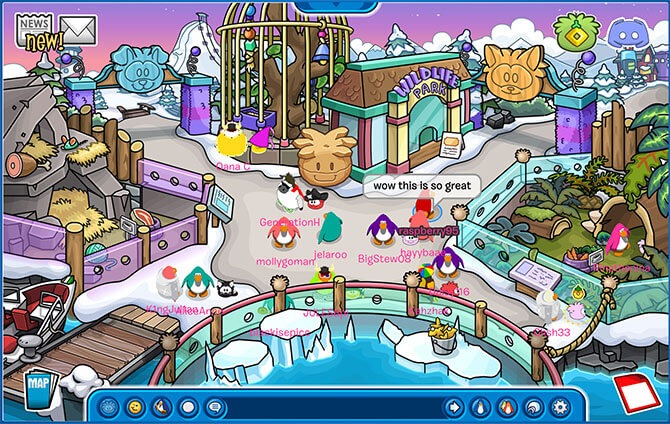 Revisiting Club Penguin: A Virtual World For Kids