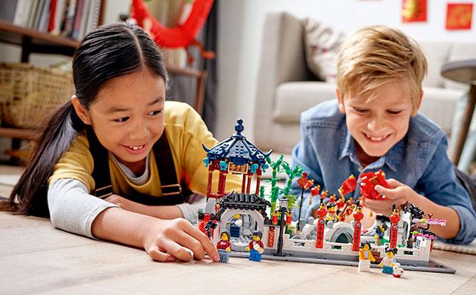 80107 - LEGO Spring Lantern Festival 2