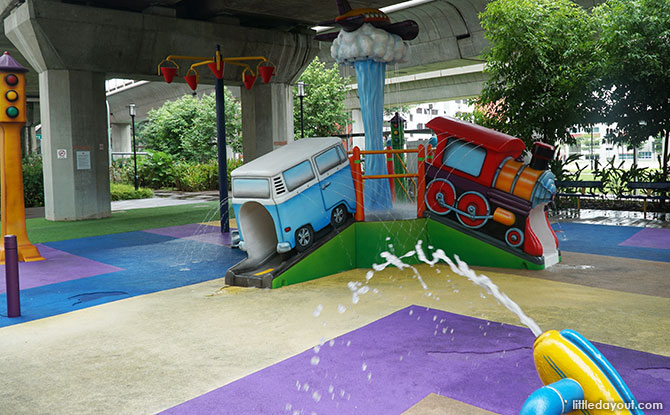 Choa Chu Kang Transport-themed Water Play Area