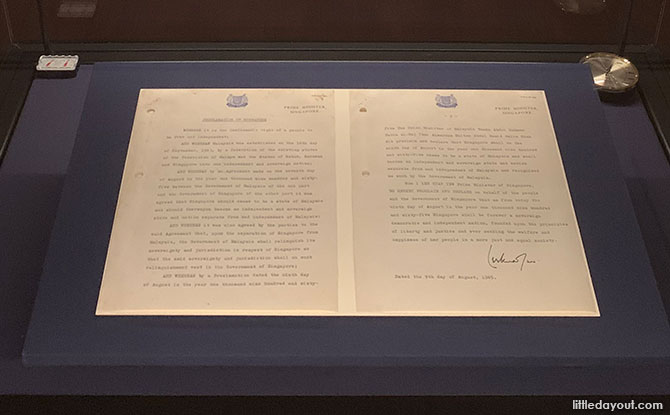 The Significance Of A Simple Document At National Gallery Singapore's Law Of The Land: Singapore's Constitutional Documents