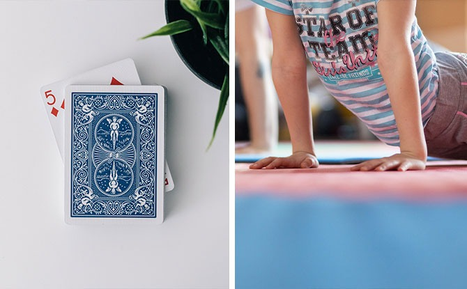 Deck Of Cards Workout: A Fun & Simple Exercise Idea With Kids