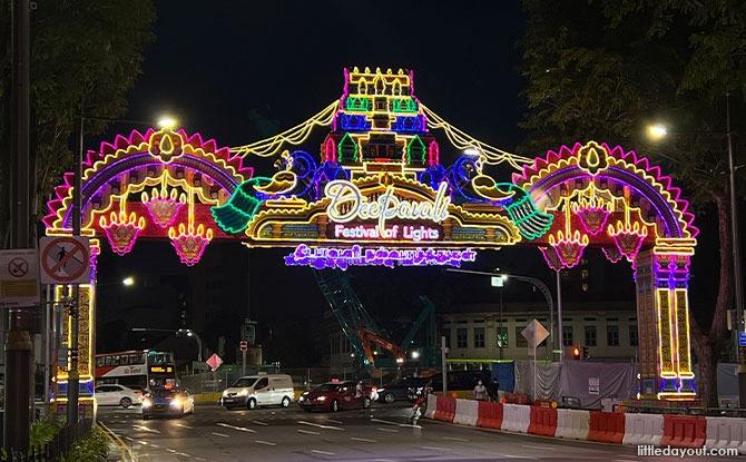 Deepavali Light Up at Little India