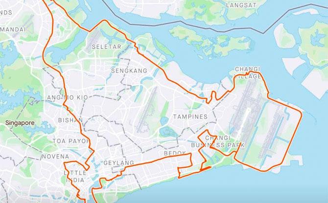 Dinosaur Cycle Trail: 100km Around Singapore