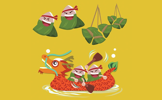 Online Duan Wu Carnival 2021: Virtual Dragon Boat Racing, Dumpling Wrapping And An Art Contest