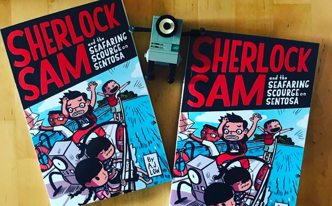 Epigram Books Releases New Sherlock Sam Title & Journal For Teens