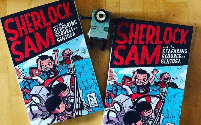 Epigram Books Releases New Sherlock Sam Title & Journal For Teens