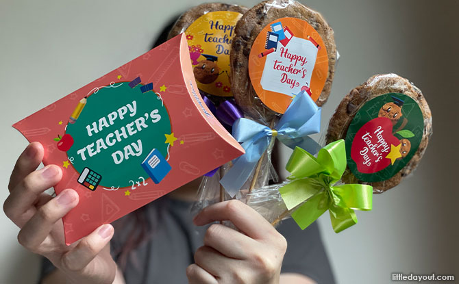 Famous Amos Teacher's Day Collection: Get A Sweet Treat To Say Thank You
