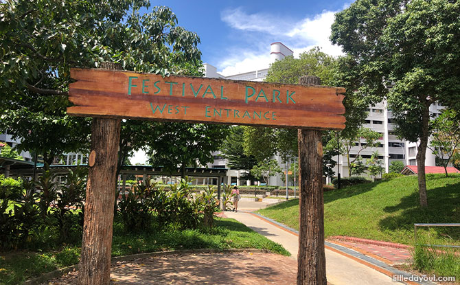 Festival Park At Tampines: Open Spaces To Exercise And Play