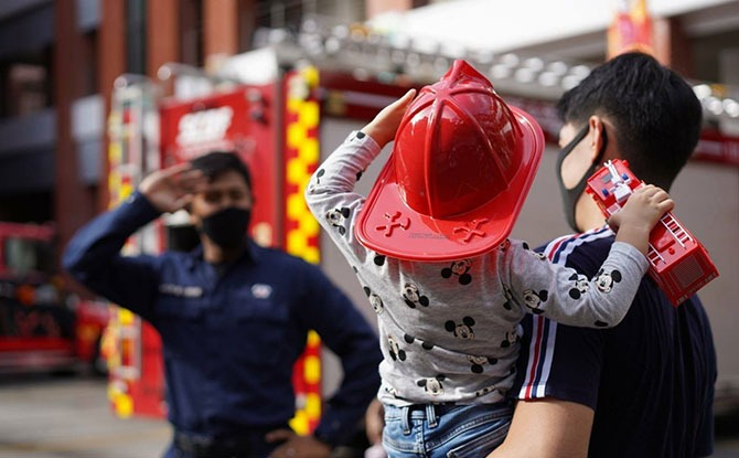 SCDF Fire Station Open Houses On Saturdays Have Restarted
