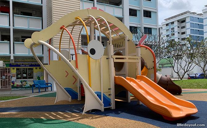 Bukit Batok Fish Playground: Fishy Fun In The Neighbourhood
