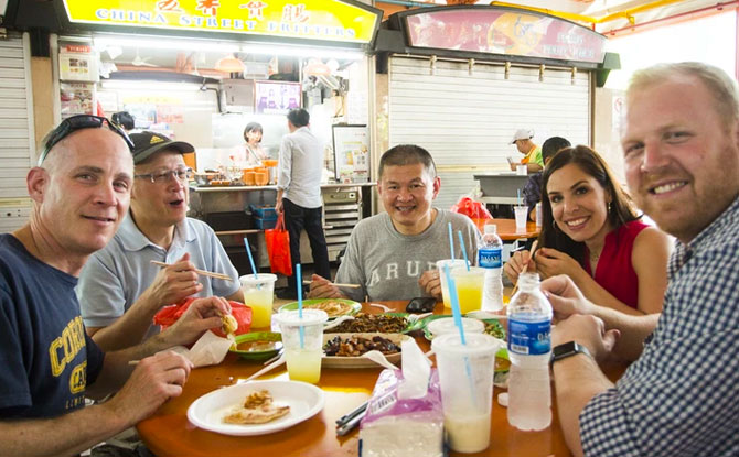 Chinatown Hawker Food Tour