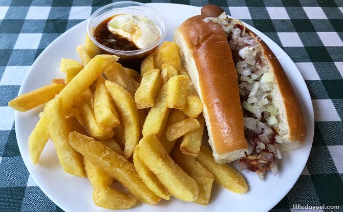 MZ Special Hotdog Combo