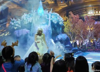 Sled Your Way To A Frozen Wonderland At Changi Airport From 21 Nov 2019 To 5 Jan 2020