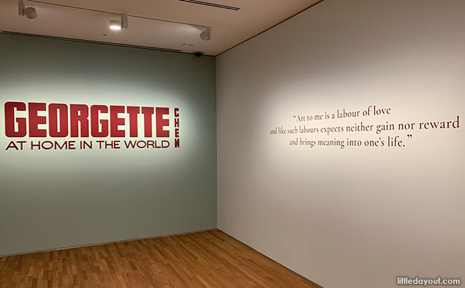 Georgette Chen: At Home in the World, now on till 26 September 2021 at National Gallery Singapore