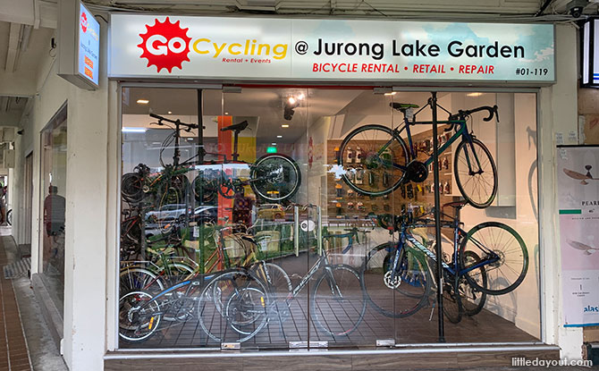 Jurong Lake Gardens Bike Rental: GoCycling Opens New Branch In The West - GoCycling @ Jurong Lake Gardens