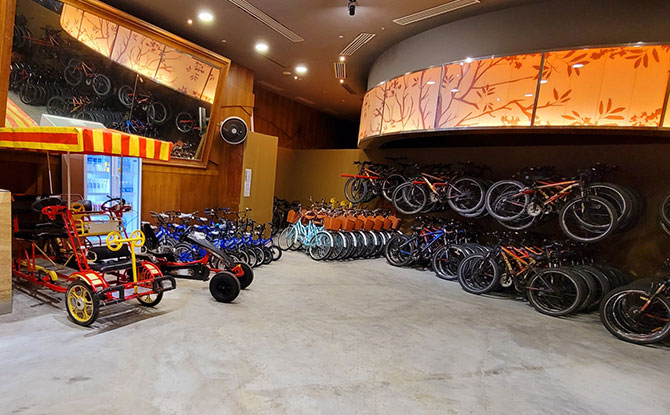 GoCycling @ Marina Bay Opens: Rent A Bike At Singapore Flyer & Explore The Eastern & Central Loops