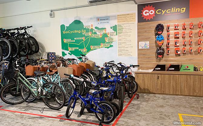Rent A Bike To Cycle At Bishan-Ang Mo Kio Park: GoCycling @ Ang Mo Kio