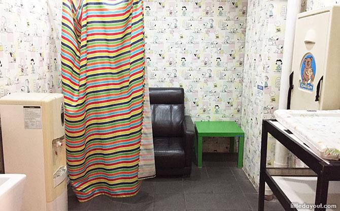 The Grandstand Nursing Room