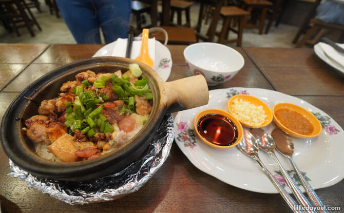 Malaysia Chiak! Claypot - Great World City Food