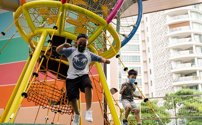 Great World City Playground: Free Shopping Mall Playland Opens