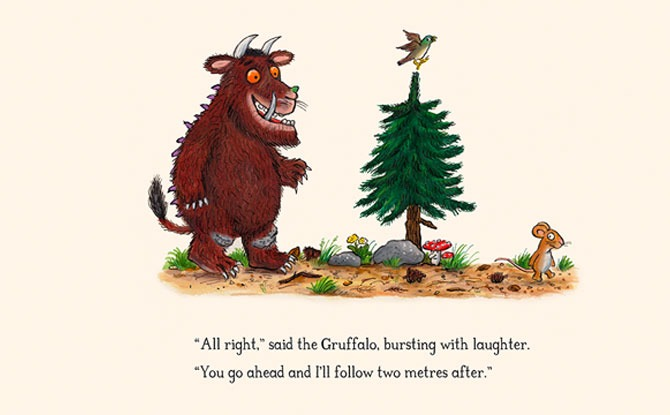 Gruffalo Author Reimagines Stories With A COVID Twist