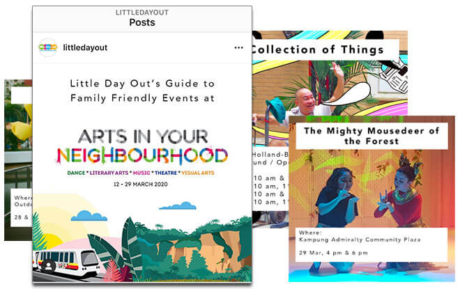 Get Little Day Out's Instagram Guide To Family-Friendly Arts In Your Neighbourhood