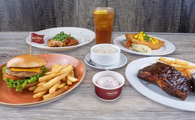 Hard Rock Cafe Singapore Launches $16 3-Course Set Lunch Menu
