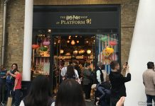 The Harry Potter Shop At Platform 9 ¾, Kings Cross Station: Potterheads, Aboard!