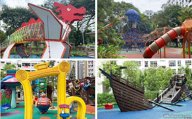 20+ Of The Best HDB Playgrounds In Singapore