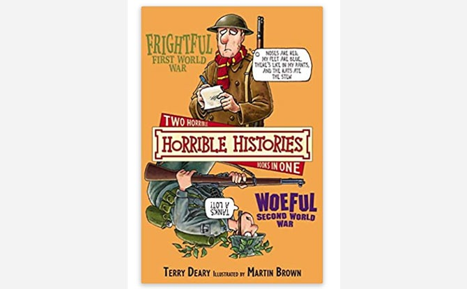 Parent Review: Horrible Histories The Frightful First World War and The Woeful Second World War