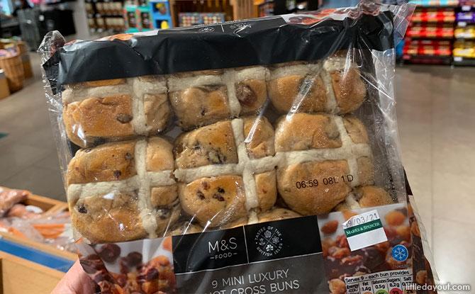 Marks & Spencer hot cross buns