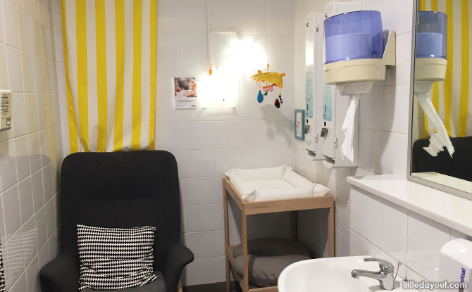 IKEA (Alexandra) Nursing Room Review