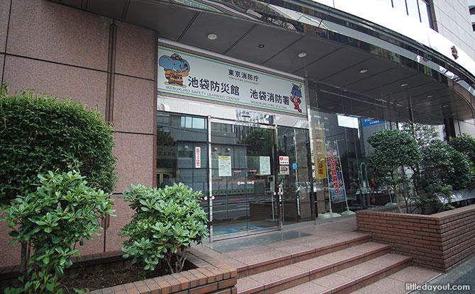 Ikebukuro Disaster Training Center, Tokyo, Japan