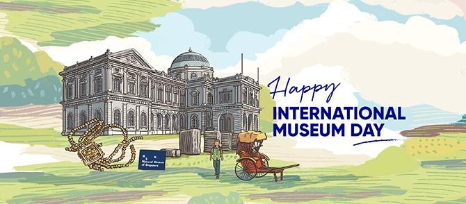 Museum Illustrations by Pok Pok & Away