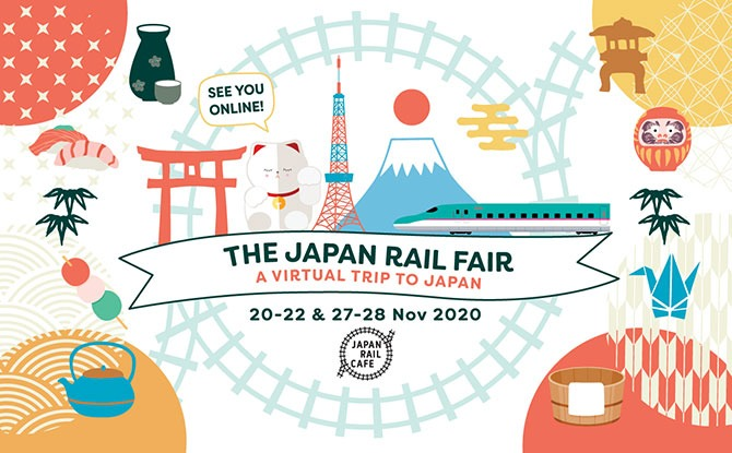 Japan Rail Fair By Japan Rail Café: A Taste Of Japan Online