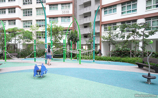 Anchorvale Plain Playground nets