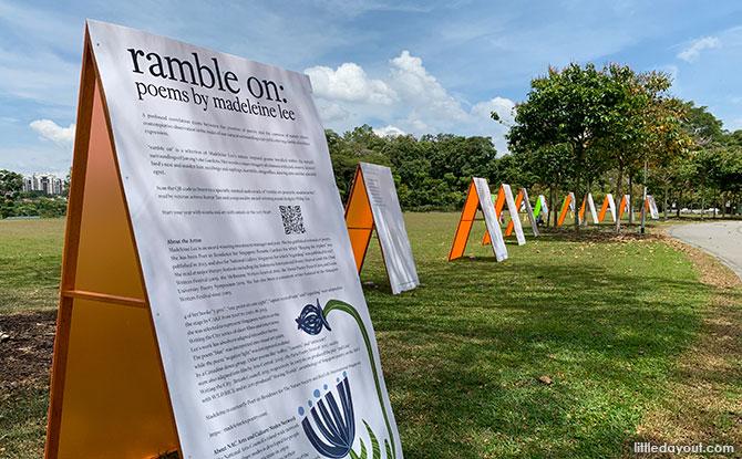 Art And Nature Ramble On Together At Jurong Lake Gardens